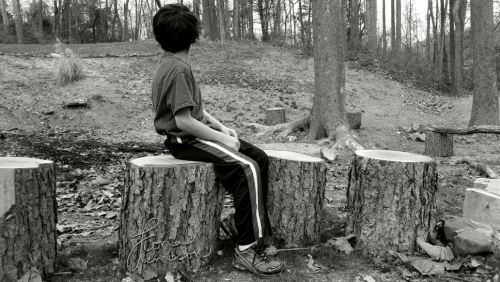 Ronan sitting
