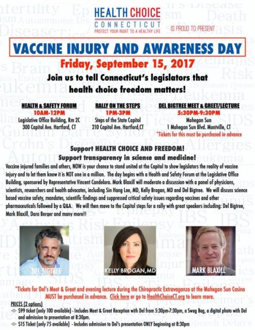 CT Vax Injury Day