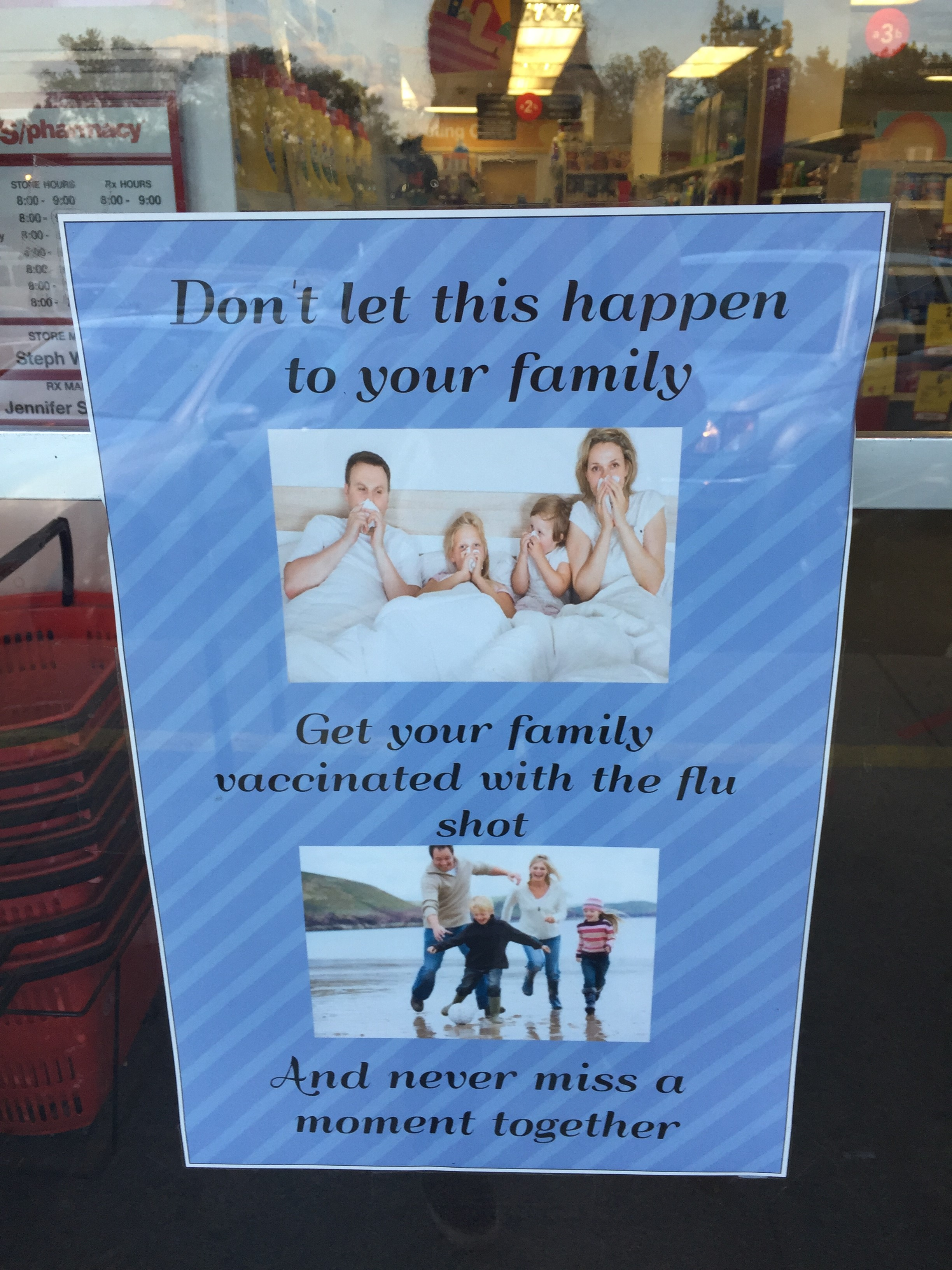 CVS Threatens Great Family Loss Without a Flu Shot AGE OF AUTISM