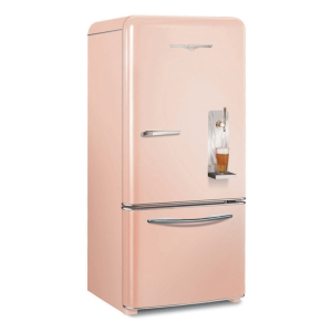 Pink beer fridge