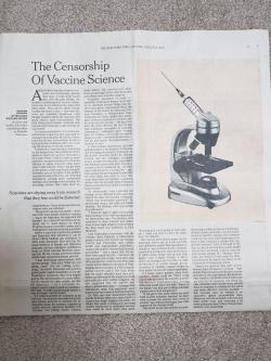 NYR paper headline