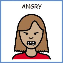 PECS angry