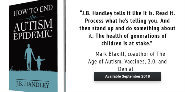 Debut Day Jb Handley S How To End The Autism Epidemic
