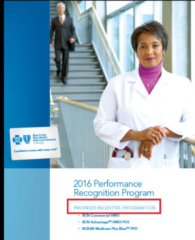 BCBS recognition program