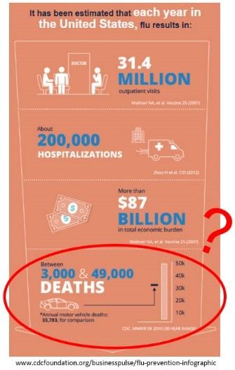 Flu deaths