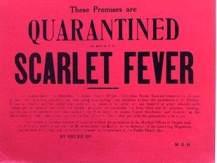 Scarlet-fever-quarantine