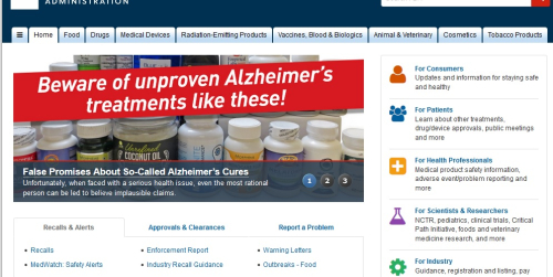 FDA Alzheimers