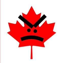 Angry maple leaf
