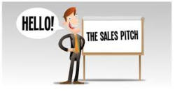 Sales pitch