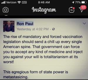 Ron Paul Tweet