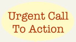 Urgent call to action