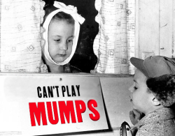 Mumps can't play