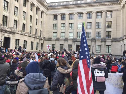 Occupy Trenton Jan 6