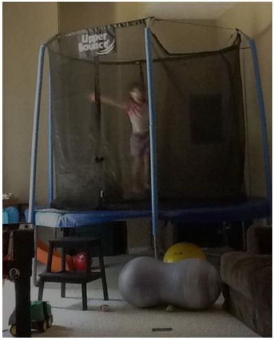 Ronan trampoline