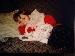 Meg sick age 5