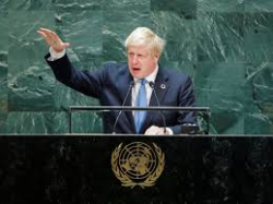 Boris Johnson at UN