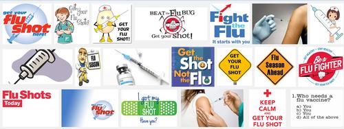 Flu banner