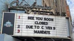 Closed theatre