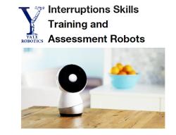 Yale robotics