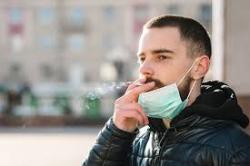 Mask smoking
