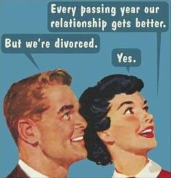 Divorce meme every year