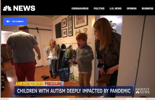 NBC News autism covid