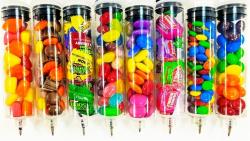 Candy syringe pens