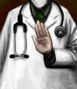 Doctor Hand Up