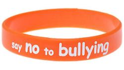 No bullying bracelet